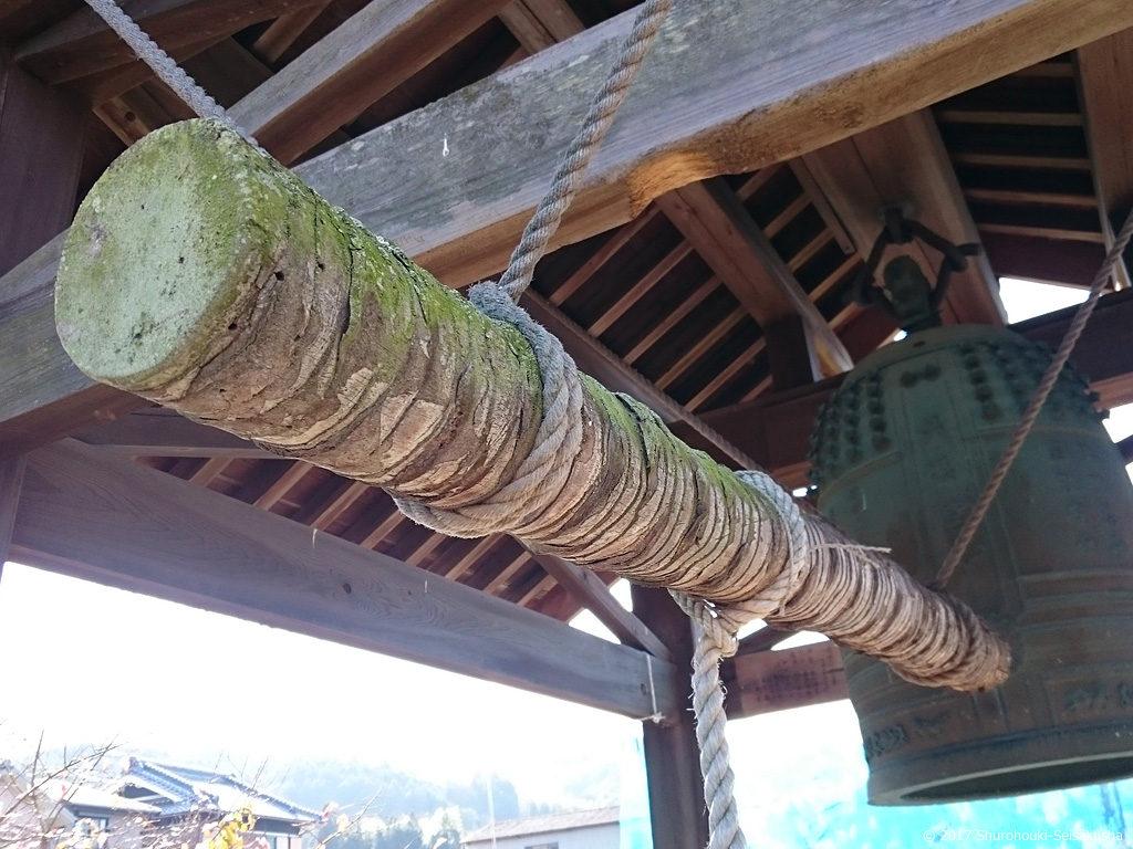 棕櫚の木の撞木(しゅもく)