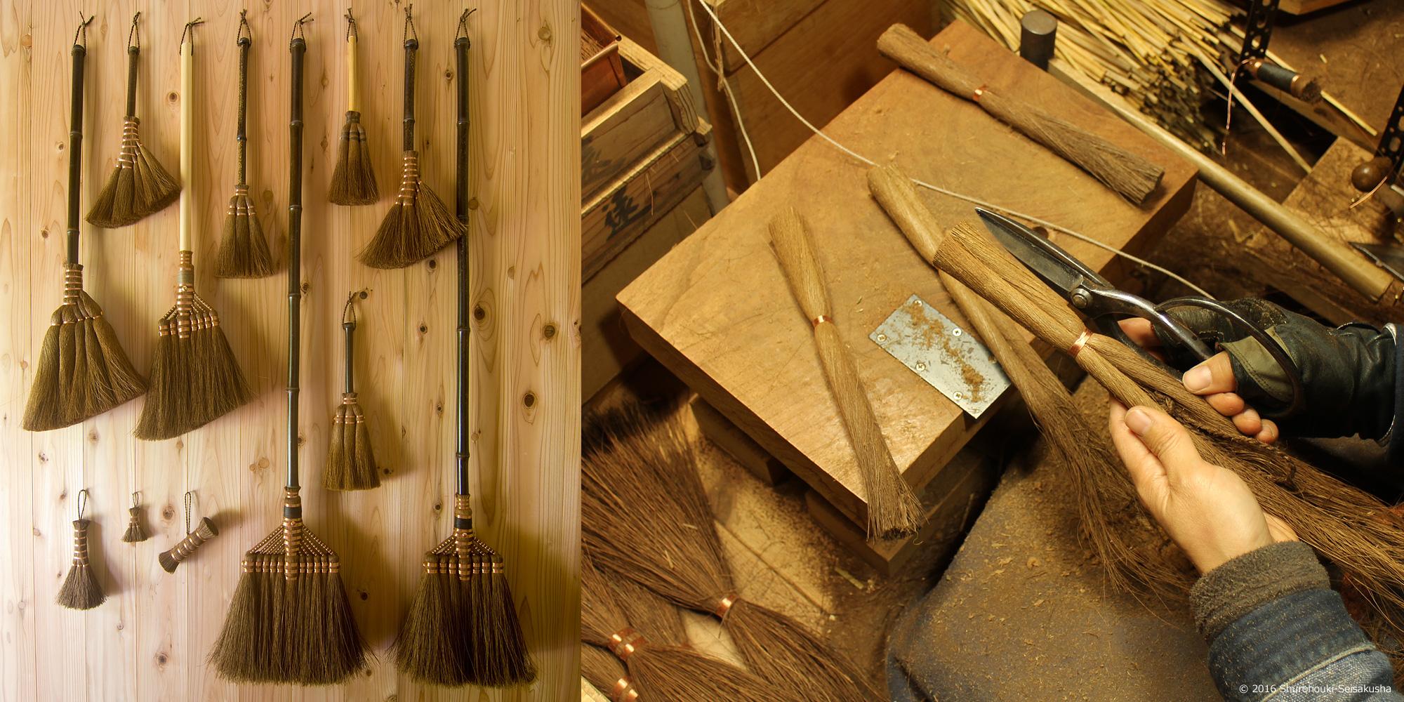 箒師のしごと / 棕櫚箒製作舎ブログ画像