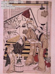 武家煤払の図/部分-19世紀-喜多川歌磨-東京国立博物館研究情報アーカイブズ