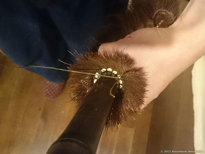 棕櫚箒-鬼毛箒の修理・修繕