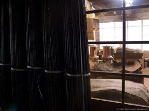 製作風景-【棕櫚箒】黒竹と工房