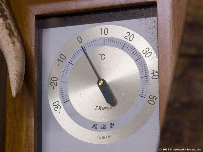 棕櫚箒製作舎工房-温度計