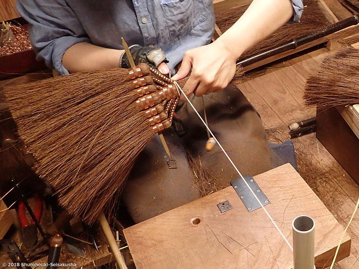棕櫚箒-鬼毛箒=タイシ箒を合わせる