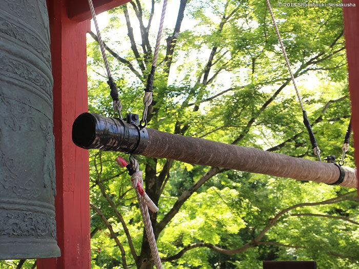 棕櫚の木の撞木(しゅもく)-平等院