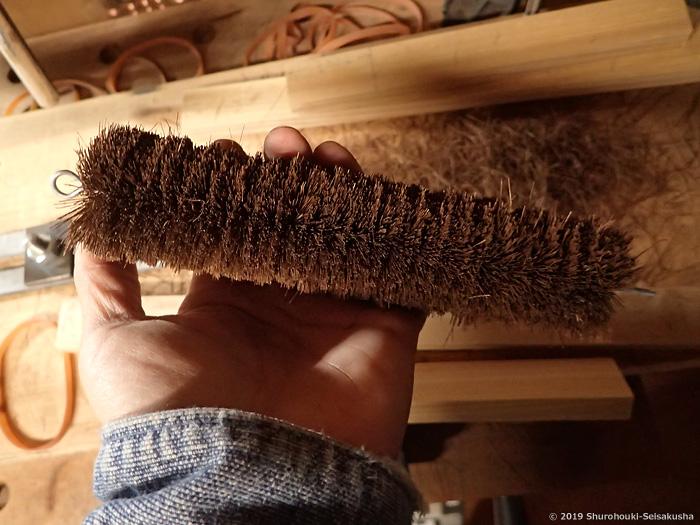 棕櫚束子作りを復習