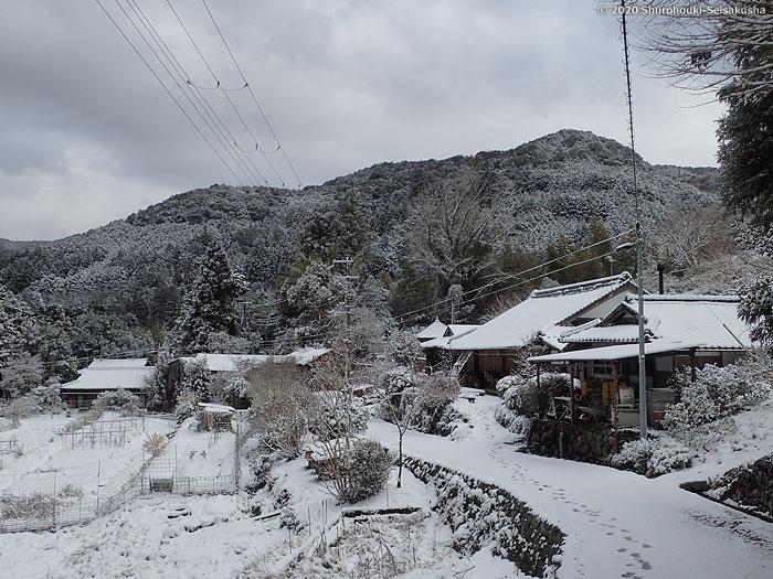 棕櫚箒製作舎-雪景色